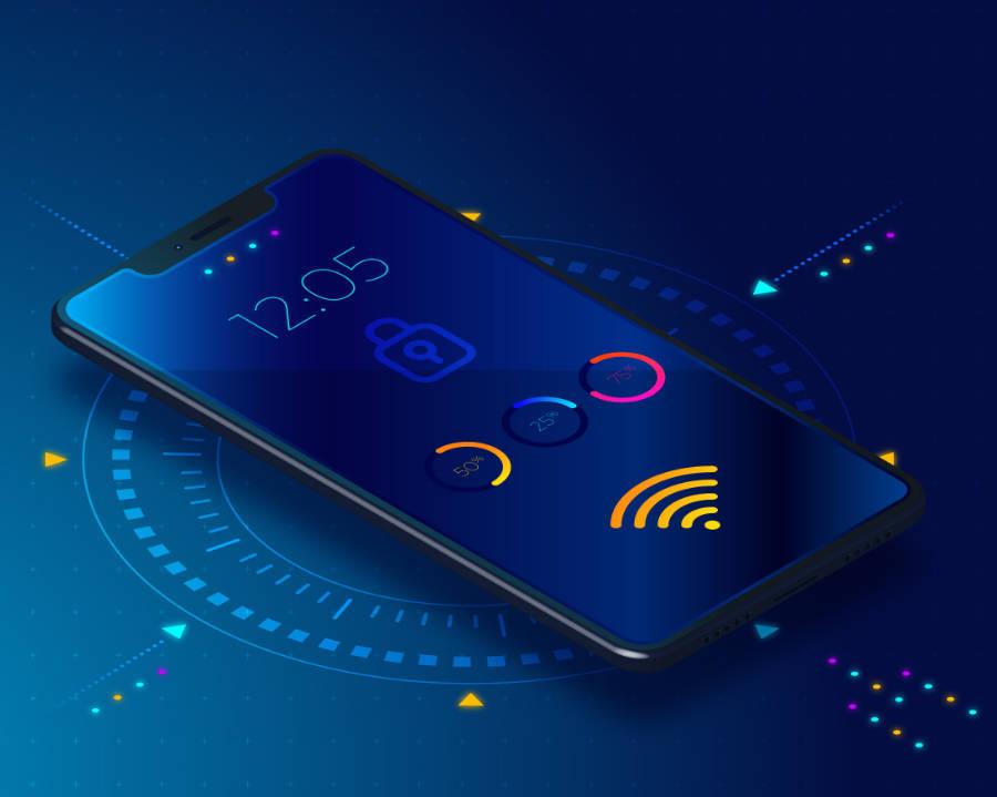 Smartfon dla aplikacji mobilnych