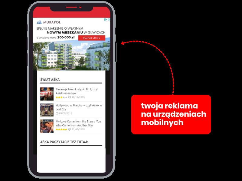 Przedstawienie zasady działania reklamy mobilnej