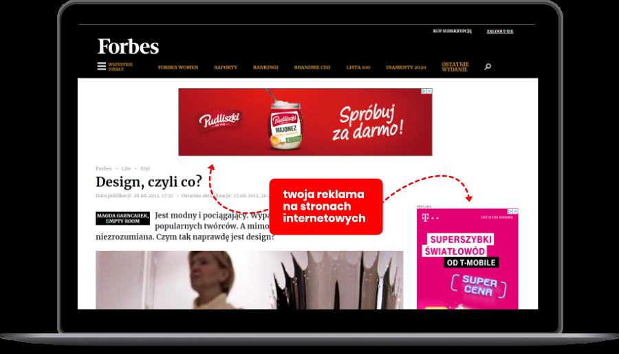 Wytłumaczenie zasady działania reklamy w sieci reklamowej dla Google Ads